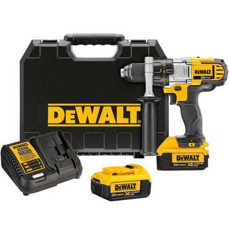 Dewalt 1/2 in,  20V DC Cordless Drill,  Battery Included DCD980M2