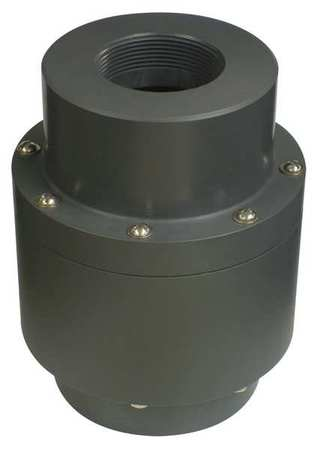 Plast-O-Matic Flow Control Valve, 3/4In FNPT, PVC, 4gpm FC075EP-004-PV