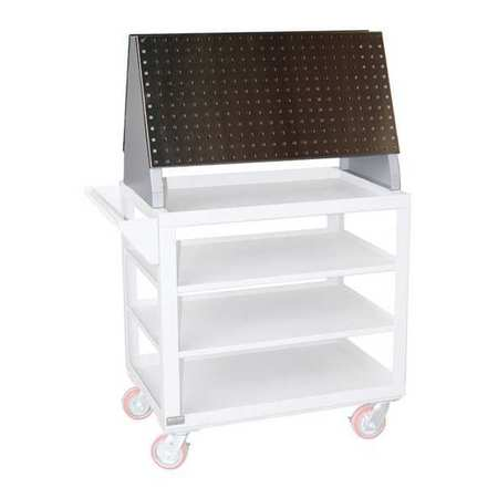 """Greene Manufacturing, Inc. Stainless Steel Tool Panel Cart,  18""""W x 18""""H GMTP-1818.SS"""