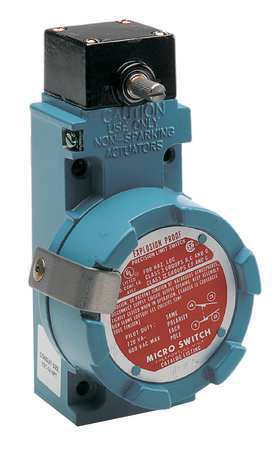Honeywell Micro Switch Explosion Proof Limit Switch,  No Lever,  Rotary,  2NC/2NO BXN4L