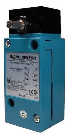 2NC//2NO Heavy Duty DPDT Limit Switch