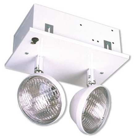 Compact Recessed Emergency Light Steel