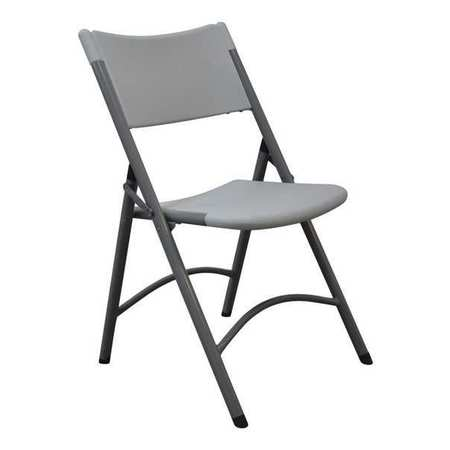 Superb Folding Chair Blow Molded Gray 300 Lb Ocoug Best Dining Table And Chair Ideas Images Ocougorg