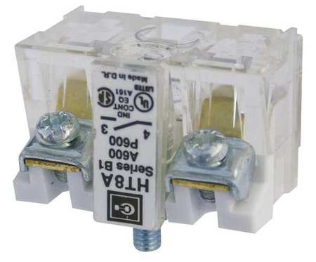 Eaton Contact Block, NO, 30mm, Clear HT8A