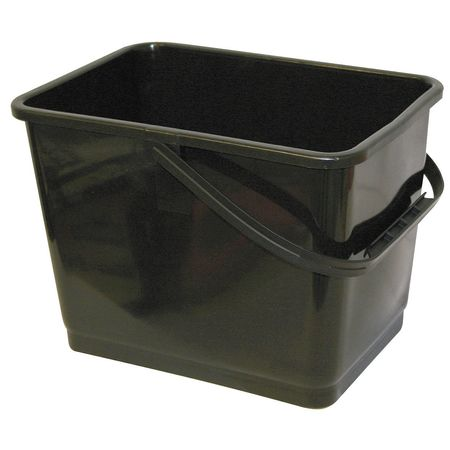 Mallory MALLORY Black Squeegee Bucket,  Depth: 8 3/4 in 864 Black