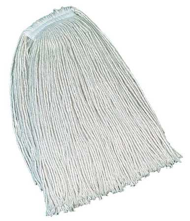 Rubbermaid Value Pro 100% Post Industrial Cotton Wet Mop,  White FGV11700WH00
