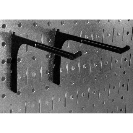 W,Gray H,96 In WALL CONTROL 35-P-3296GY Pegboard,Round,32 In