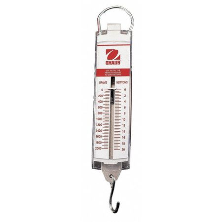 Ohaus Spring Scale, 500g Capacity 8263-M0