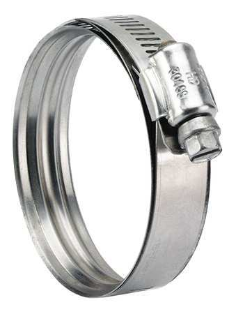 Zoro Select Hose Clamp, 2-1/2 to 3-3/4 In, SAE 52, PK10 360030052070
