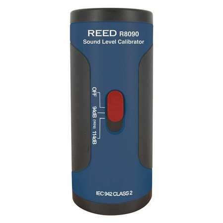 """Reed Instruments Sound Level Calibrator for 1/2"""" Diameter Microphones,  +/-0.5dB Accuracy R8090"""