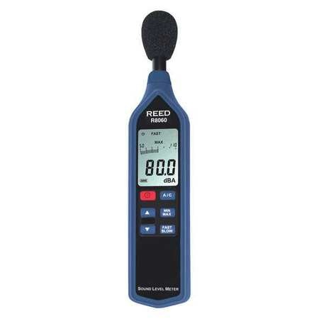 Reed Instruments Sound Level Meter with Bargraph,  Type 2,  30 to 130 dB R8060