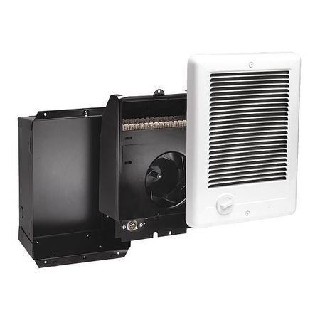 Cadet Electric Wall Heater with Thermostat,  1500 W,  120VAC,  White CSC151TW