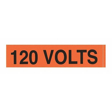 Nsi Industries Voltage Markers (1)120 Volts VM-A-3