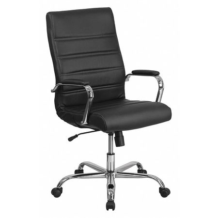 Superb High Back Leather Swivel Office Chair With Wheels Pdpeps Interior Chair Design Pdpepsorg