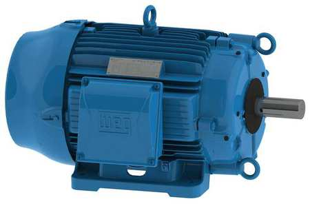 Weg Cooling Tower Motor,  Three Phase,  30 HP,  1,765 Nameplate RPM,  200V AC,  284/6T Frame 03018ET3PCT286TF1-W2