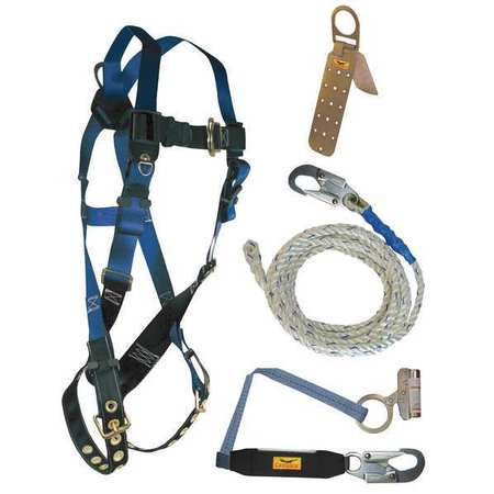Condor Roofer's Harness Kit,  Size: Universal 19F394