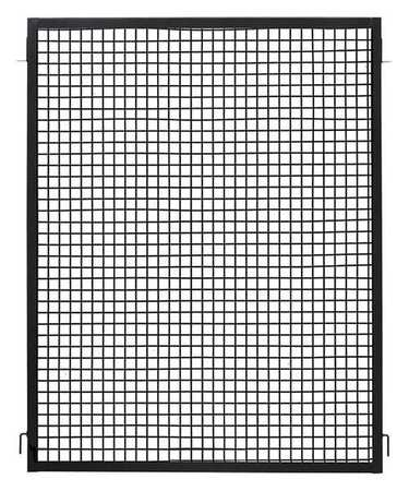 Zoro Select Wire Partition Panel, W 5 Ft x H 5 Ft 19N870