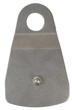 Gemtor Pulley, Stainless Steel, Silver 51C