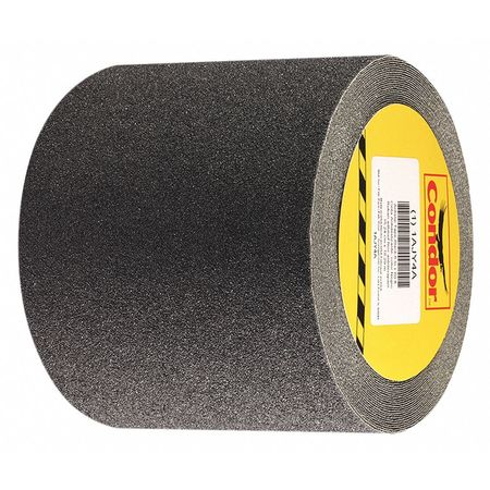 Anti-Slip Tape, Flat Black, 6 in x 60 ft.
