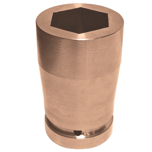 "Pahwa QTi Non Sparking,  Non Magnetic Deep Impact Socket 2-1/2"" - 3"" IS-73064"