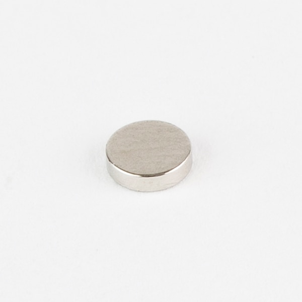 "Bunting N52 Neodymium Disc Magnets,  0.625"" D,  4.98 lb Pull,  Rare Earth Magnets N52P625062"