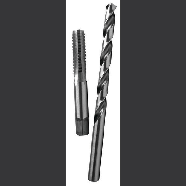 Century Drill And Tool Tap-Plug Carbon Steel5/16-24 Natl Fine I Letter Drill Bit Combo Pack 94506