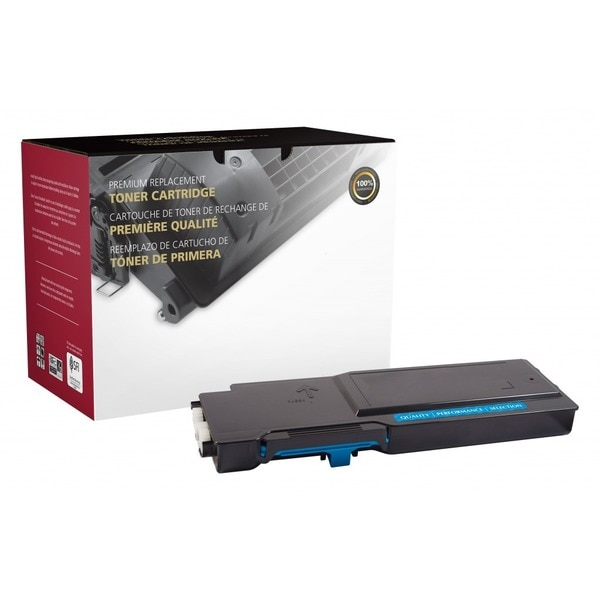 Clover Imaging Group Remanufactured Extra High Yield Cyan Toner Cartridge,  Xerox 106R03526 201343P