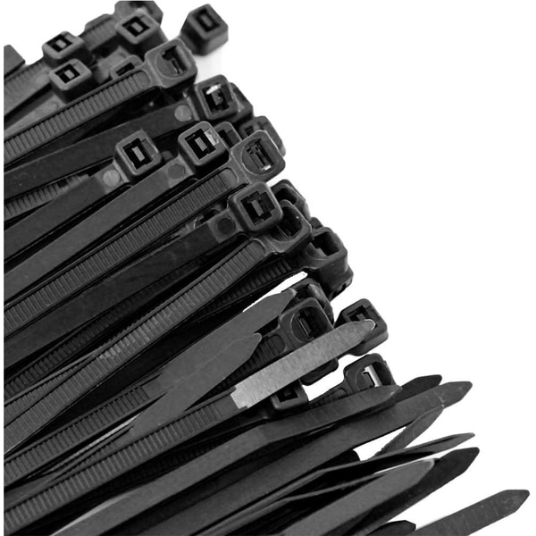 "Us Cable Ties Cable Tie,  8"",  50 lb,  UV Black Nylon,  1000 Pack SD8B1000"