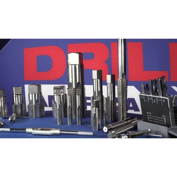 DWT Series Drill America 7//16-20 High Speed Steel Bottoming Tap