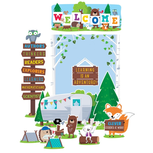 Creative Teaching Press Woodland Friends Woodland Welcome Bulletin Board Set 7069