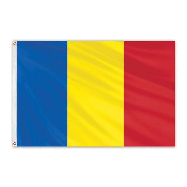Global Flags Unlimited Andorra Outdoor Nylon Flag 5'x8' 201093
