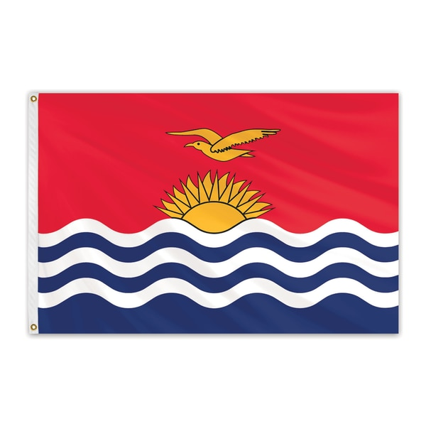 Global Flags Unlimited Kiribati Outdoor Nylon Flag 4'x6' 202175