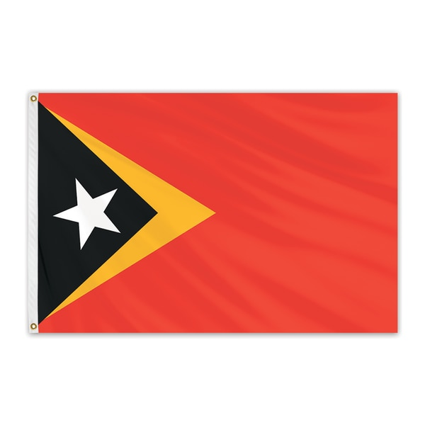 Global Flags Unlimited East Timor Outdoor Nylon Flag 2'x3' 203599