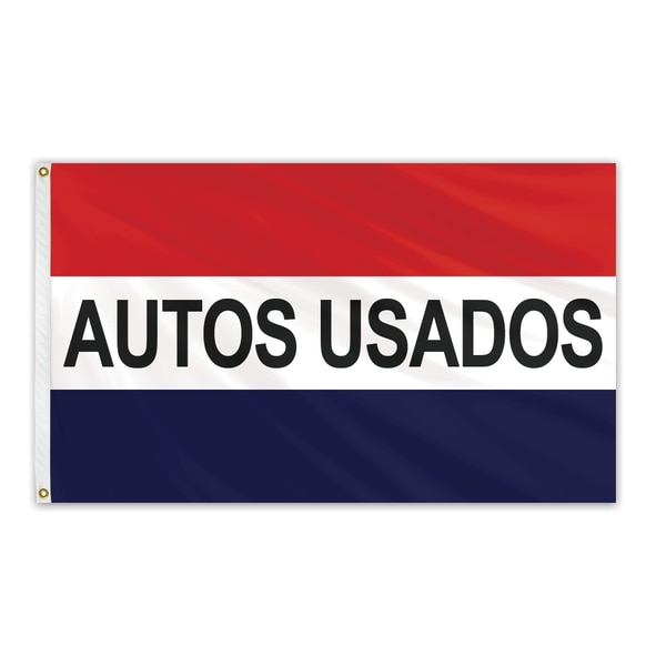 Global Flags Unlimited Autos Usados Message Flag 3'x5' Standard Flag 204590