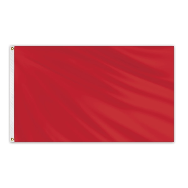 Global Flags Unlimited Solid Color Outdoor Nylon Flag 3' x 5' - Canada Red 204649