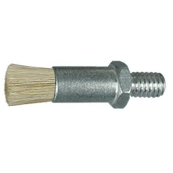 "Gordon Brush 1/4"" D Body Horsehair Fill  .033"" Orifice Male Thread Flow Thru Brush 901717HH"
