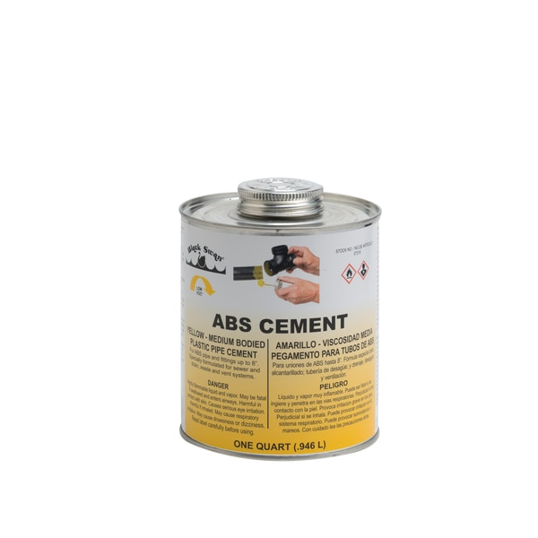 Black Swan Mfg. Co. ABS Cement, Yellow 07315