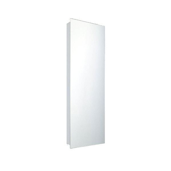 """Ketcham 12"""" x 36"""" Deluxe Surface Mounted Polished Edge Medicine Cabinet 170PE-SM"""