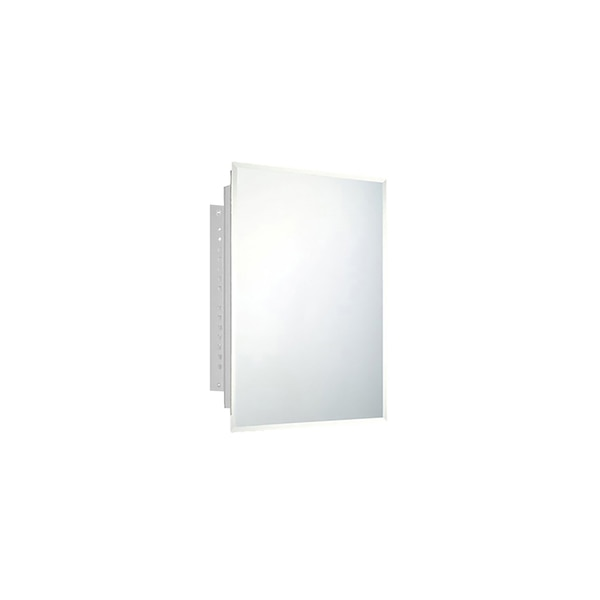 """Ketcham 16"""" x 22"""" Deluxe Recessed Mounted Beveled Edge Medicine Cabinet 171BV"""