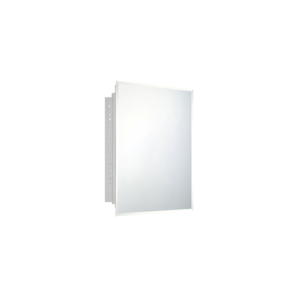 """Ketcham 16"""" x 22"""" Deluxe Recessed Mounted Beveled Edge Medicine Cabinet 172BV"""