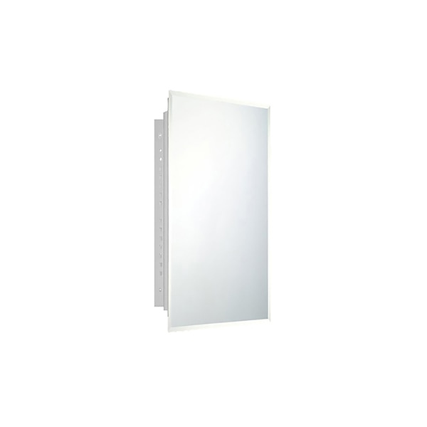 """Ketcham 16"""" x 30"""" Deluxe Recessed Mounted Beveled Edge Medicine Cabinet 173BV"""