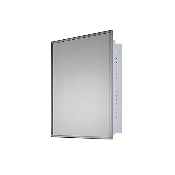 """Ketcham 20"""" x 26"""" Deluxe Recessed Mounted SS Framed Medicine Cabinet 176"""