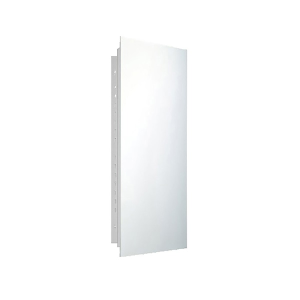 "Ketcham 16"" x 36"" Deluxe Recessed Mounted Polished Edge Medicine Cabinet 177PE"