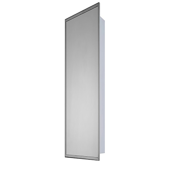 """Ketcham 18"""" x 60"""" Deluxe Surface Mounted SS Framed Medicine Cabinet 180-SM"""