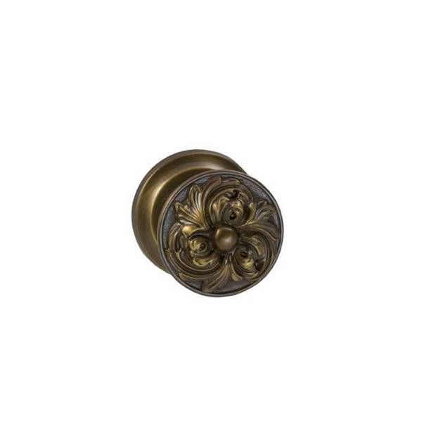 Omnia Knob Dummy Pair Shaded Bronze 232 232/00.PD4