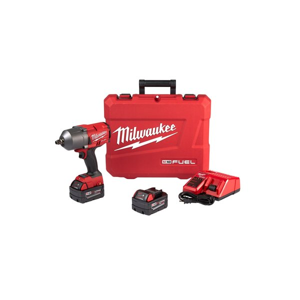 """Milwaukee M18 FUEL™ 18V 1/2"""" Cordless Impact Wrench w/ Friction Ring Kit (Battery Included) 2767-22"""