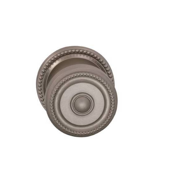 "Omnia Knob 2-5/8"" Rose Priv 2-3/8"" BS T  1-3/8"" Doors Satin Nickel 430 430/00.PR15"