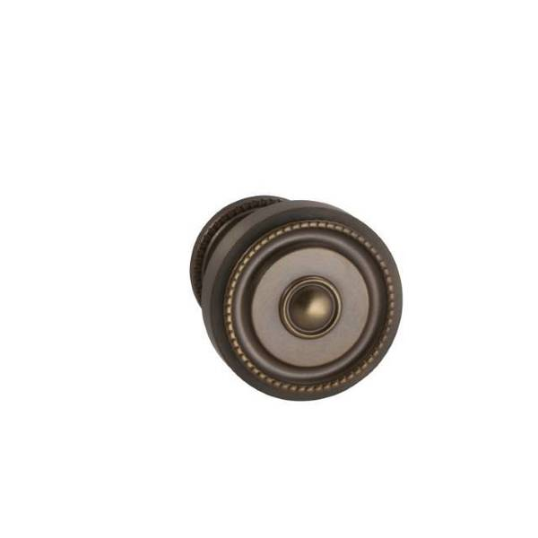 "Omnia Knob 1-3/4"" Rose Pass 238BS Full Lip  1-3/8"" Doors ULQ AB 430 430/45F.PA5A"
