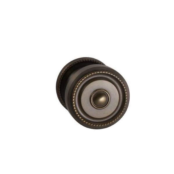 "Omnia Knob 2-3/16"" Rose Pass 238BS Full Lip  1-3/8"" Doors ULQ AB 430 430/55F.PA5A"