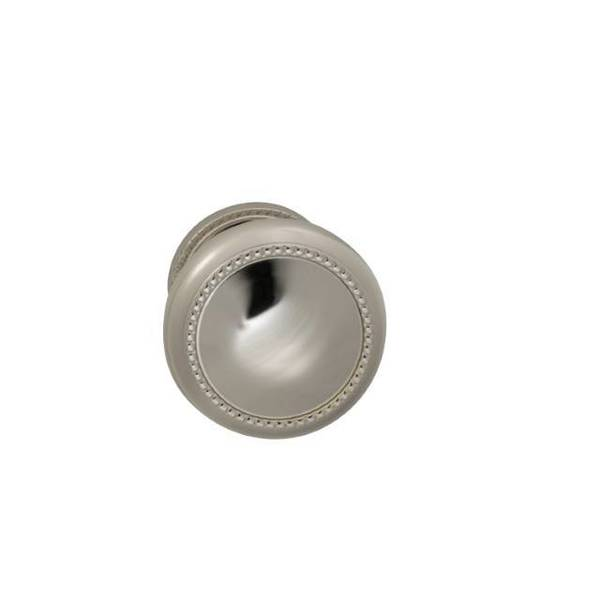 "Omnia Knob 1-3/4"" Rose Pass 2-3/8"" BS T  1-3/8"" Doors Bright Nickel 443 443/45.PA14"